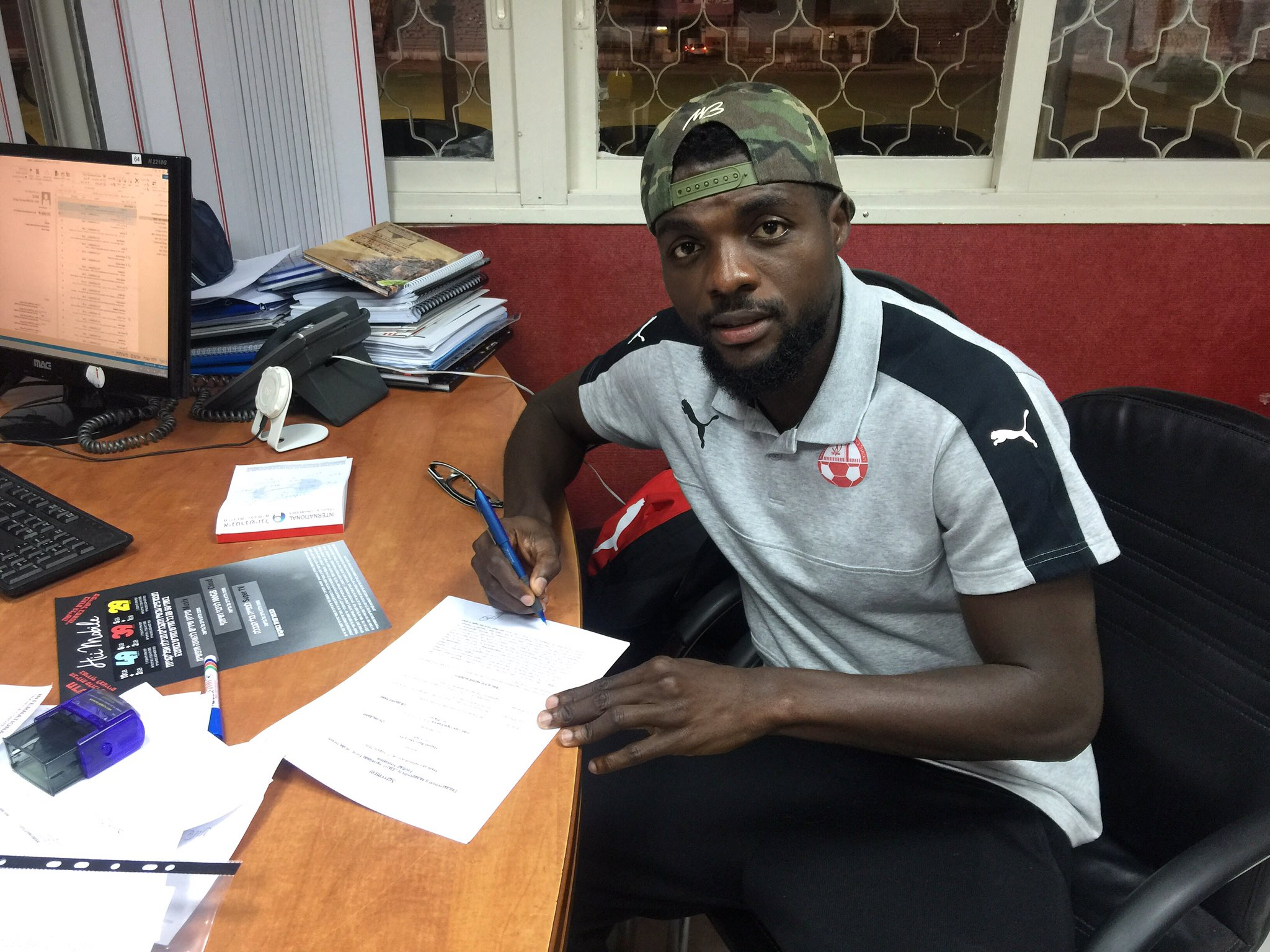 Ogu Delighted To Sign 3-Year Hapoel Be'er Sheva Extension