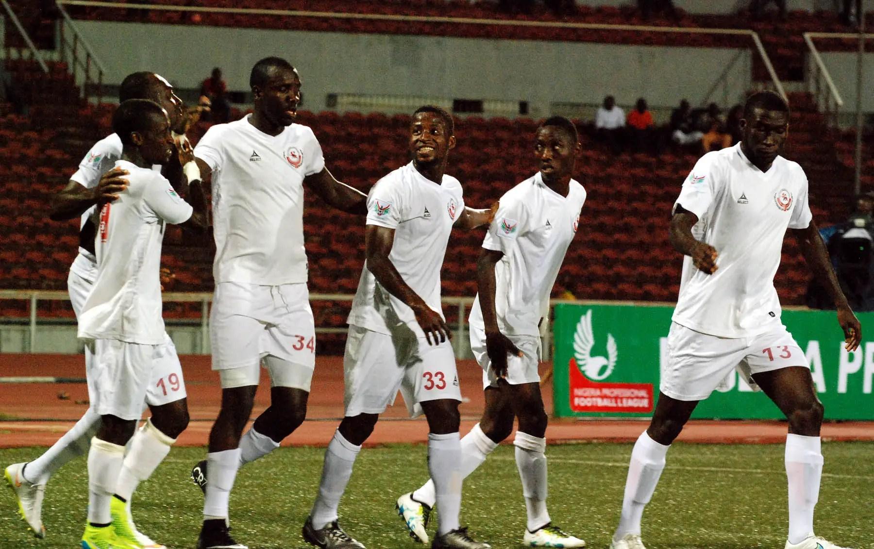 Imama Unleashes Rangers' CANE On Ikorodu United