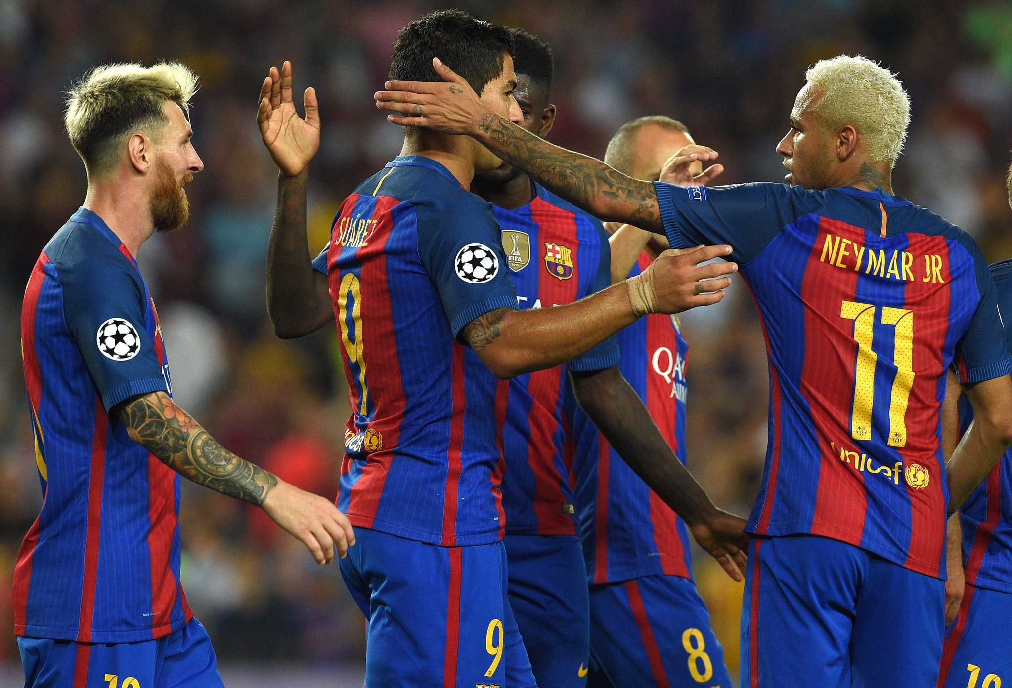 UCL: Iwobi Shines As Arsenal Hold PSG; Messi Hat-trick Fires Barca Past Celtic