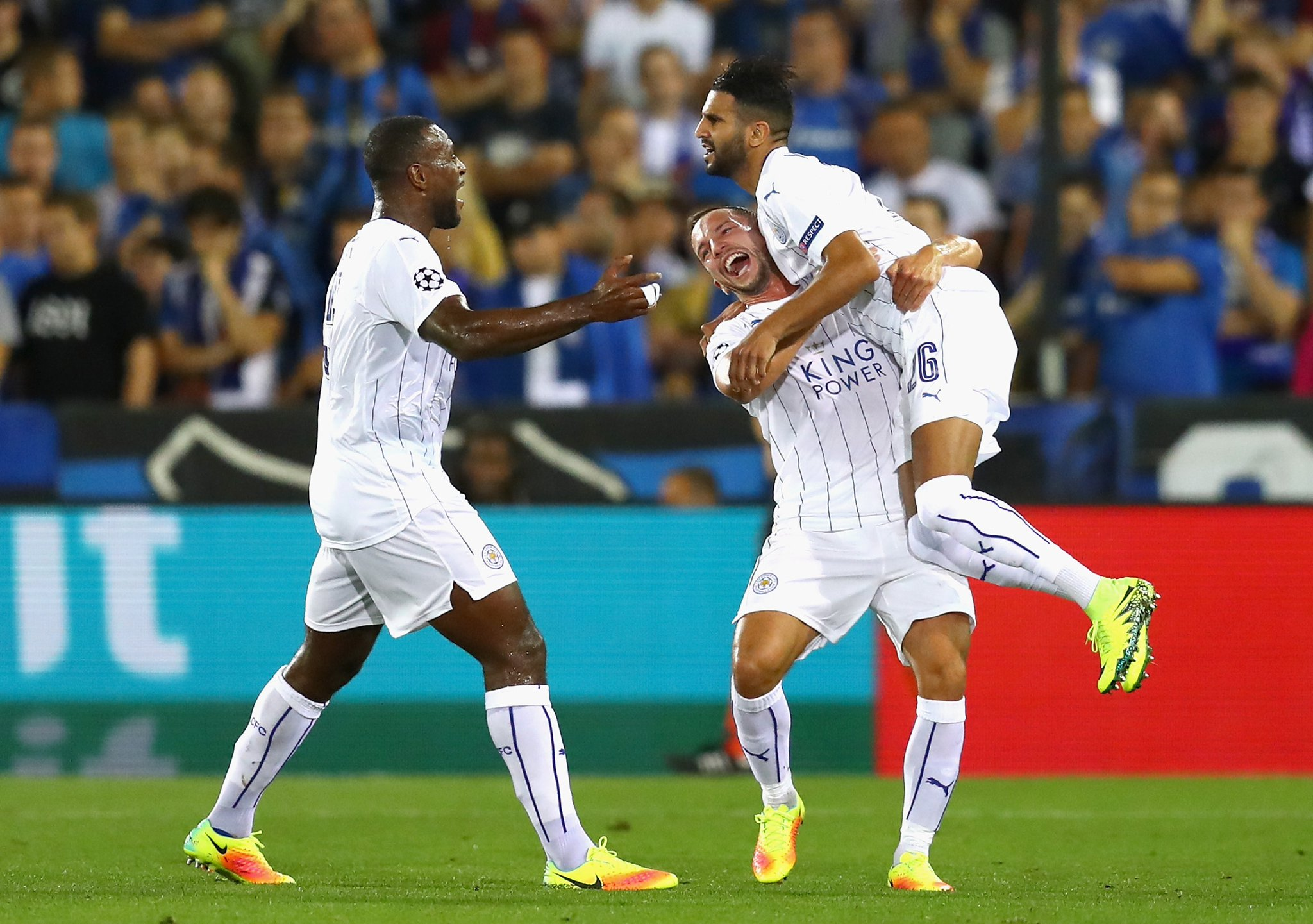 Musa Subbed On As Leicester Win, Ronaldo Rescues Real, Monaco Stun Spurs