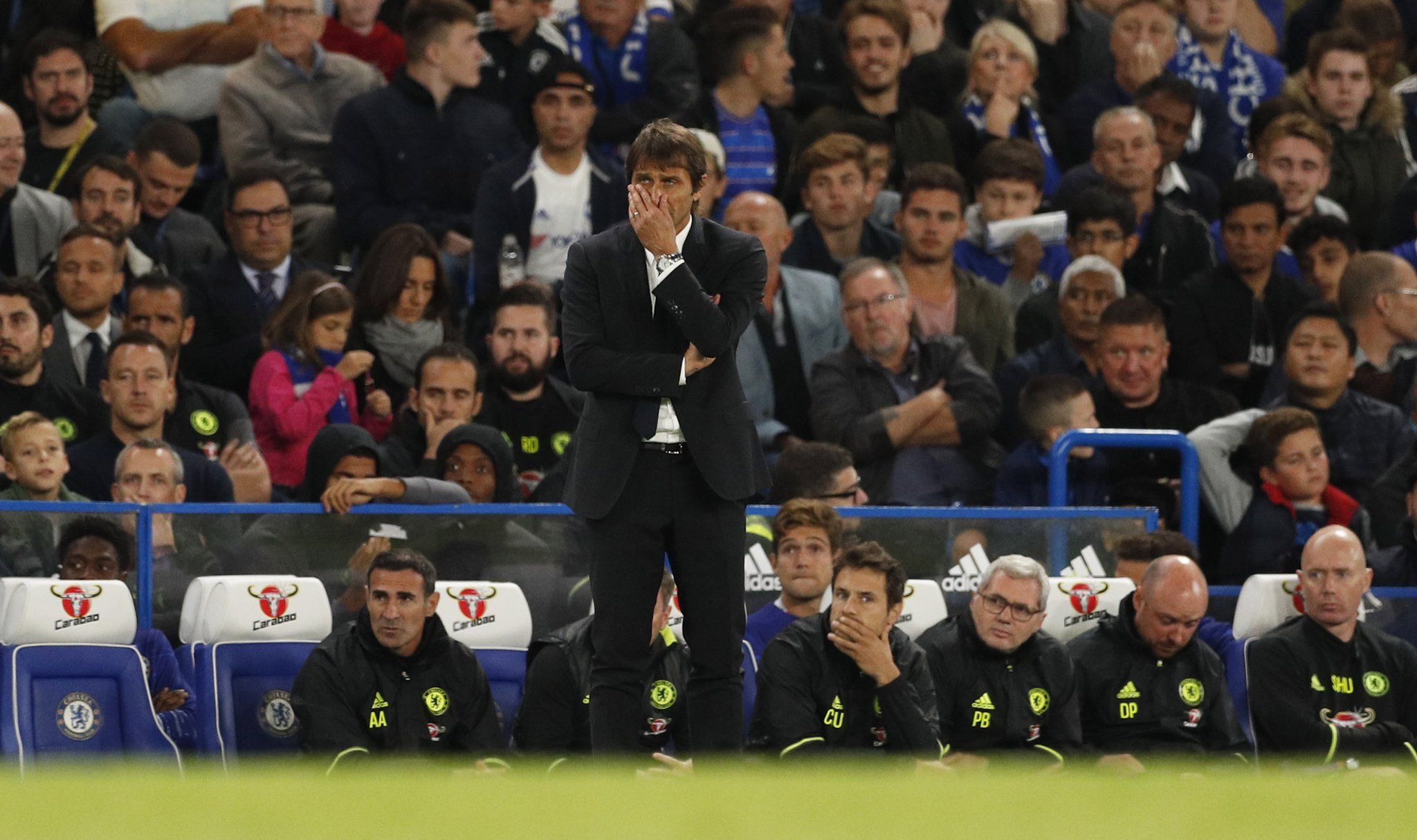 Conte: Chelsea A Great Team On Paper, Not Pitch