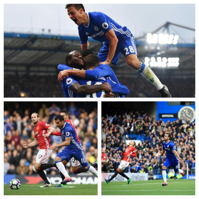 Moses Sparkles As Chelsea Spank United On Mourinho Return