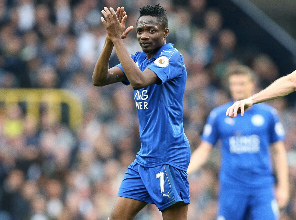 Musa Rescues Leicester Vs Spurs, Burnley Frustrate 10-Man United