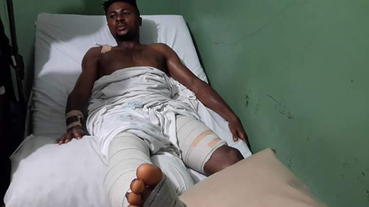 Rangers'Egwim Vows To Be Back Stronger After Horrific Injury