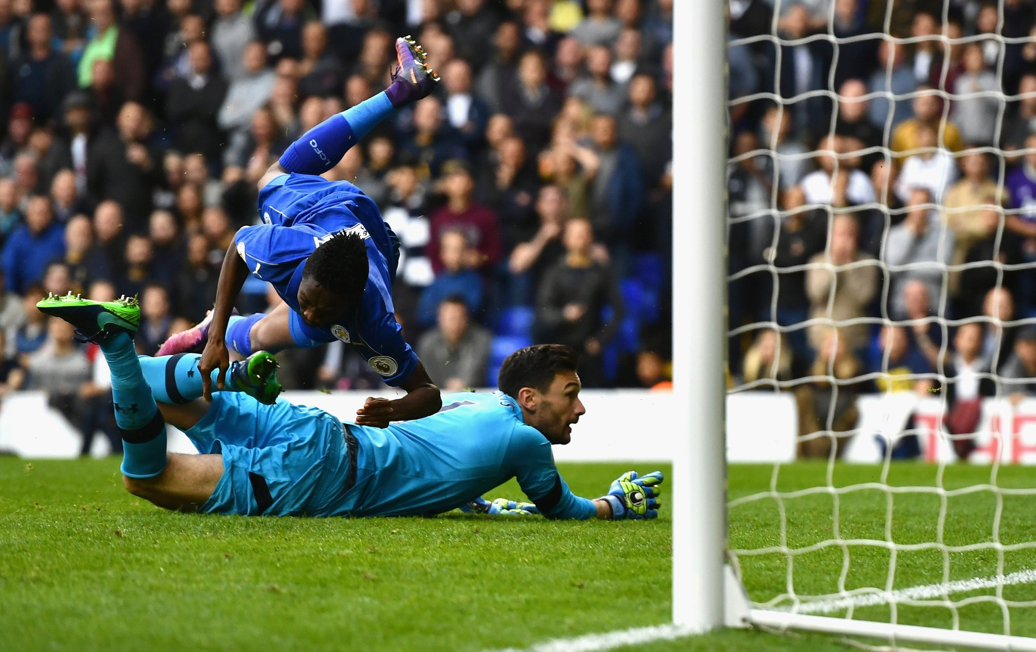 """Ranieri Impressed With """"Strong"""" Musa After Goal Vs Spurs"""