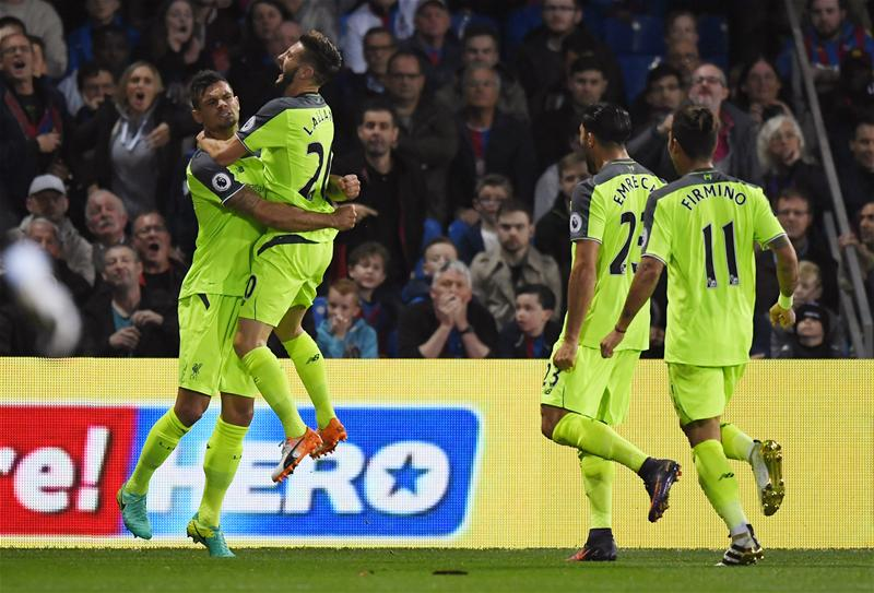 Liverpool Outscore Crystal Palace In Six-Goal Thriller