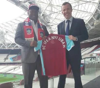 FC Ifeanyiubah, West HamSeal Partnership Deal; Plan Big Innovations