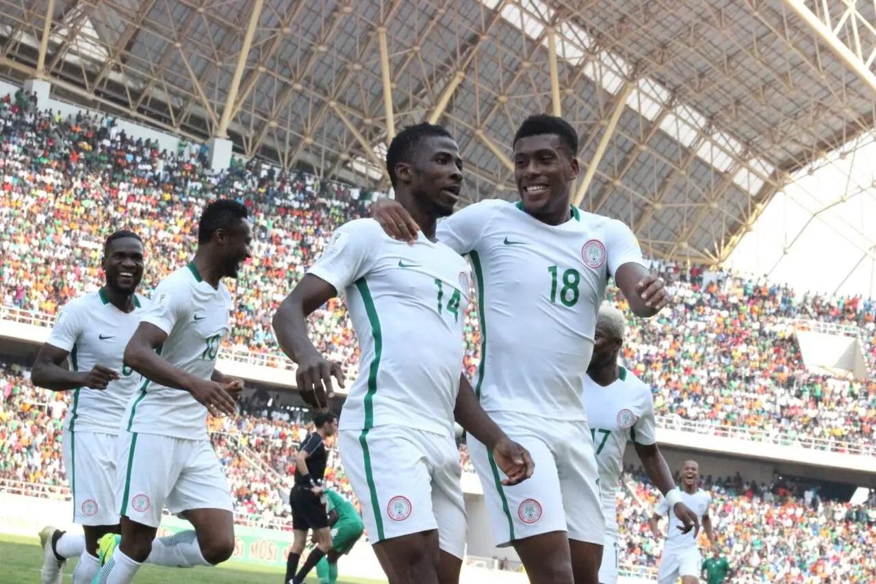 Iwobi, Iheanacho Fire Super Eagles Past Spirited Zambia