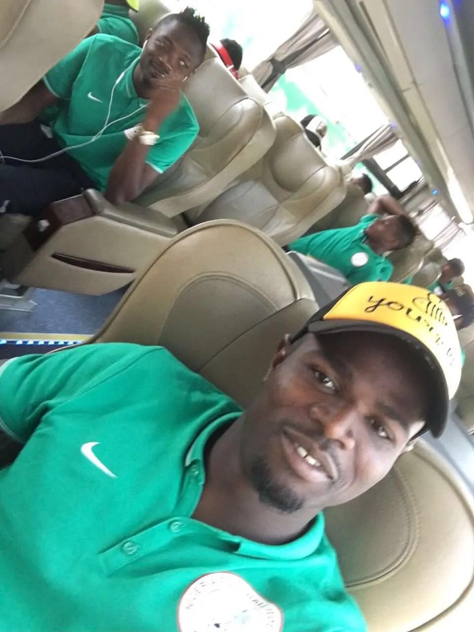 Standard Liege Congratulate Echiejile on Eagles Win Against Algeria