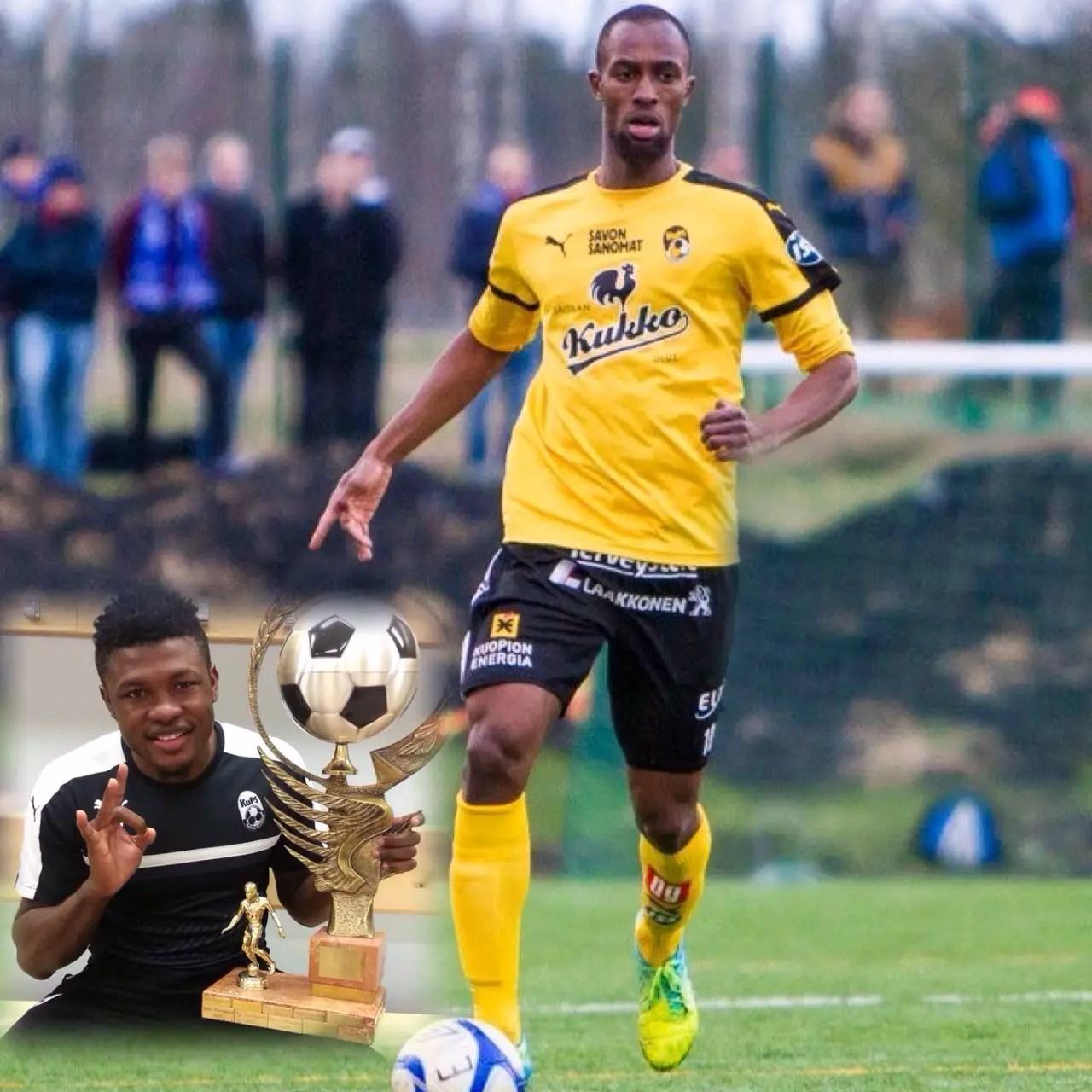 Diallo Beats Salami To KuPS Player Of The Year Award
