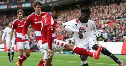 Success Named Man Of The Match As Watford Edge Boro