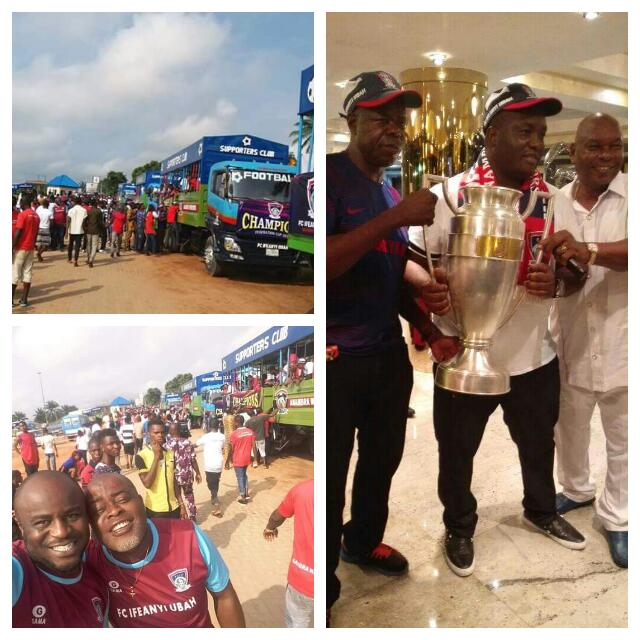 IfeanyiUbah Get Obiano's N10m, Hold Fed Cup Parade