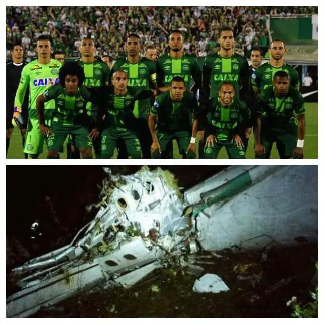 TRAGEDY! 76 Dead, 5 Survive As Brazil Club Chapecoense's Plane Crashes