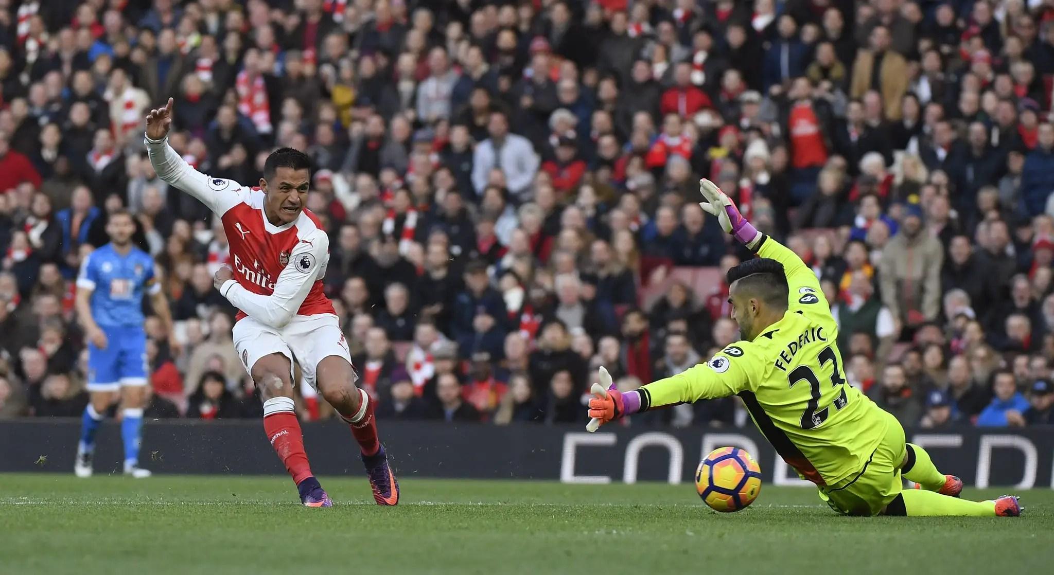 Iwobi Dropped As Sanchez Seals Arsenal Win Over Bournemouth