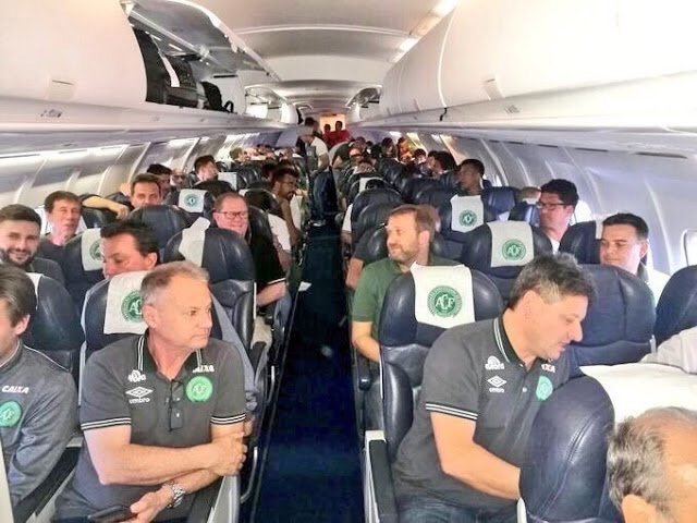 NFF Mourns With Brazil FA Over Chapecoense Plane Crash
