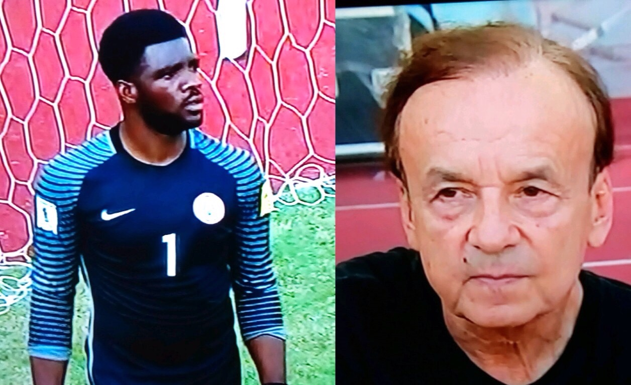 Rohr Vows To Improve Eagles Defence, Praises Akpeyi