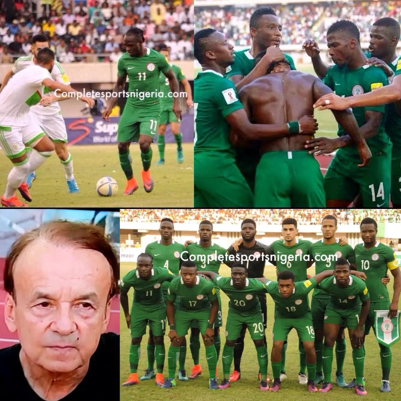 Odegbami: Nigeria – One Foot Already In Russia 2018!