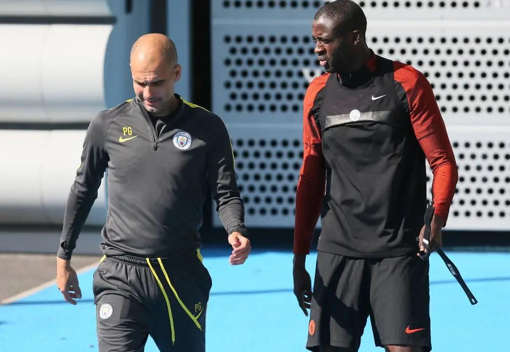 Guardiola Forgives Yaya Toure After Apology