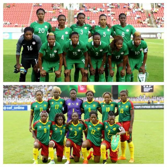 NIGERIA 8-1 CAMEROON: Lionesses Seek Second Win Vs Dominant Super Falcons