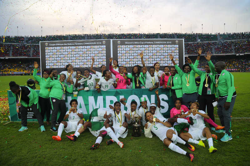 AFRICAN CHAMPIONS! Super Falcons Overcome Cameroon, Win AWCON Title