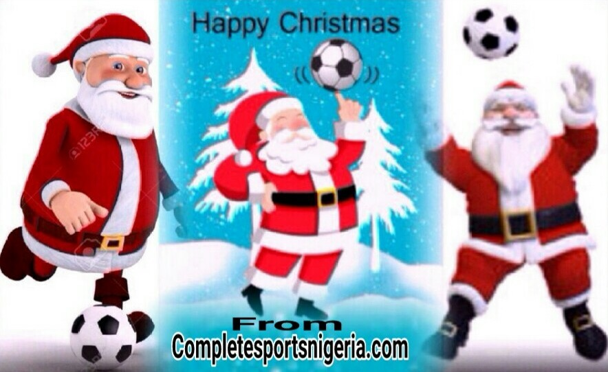 Completesportsnigeria.com: Merry Christmas And Happy New Year In Advance
