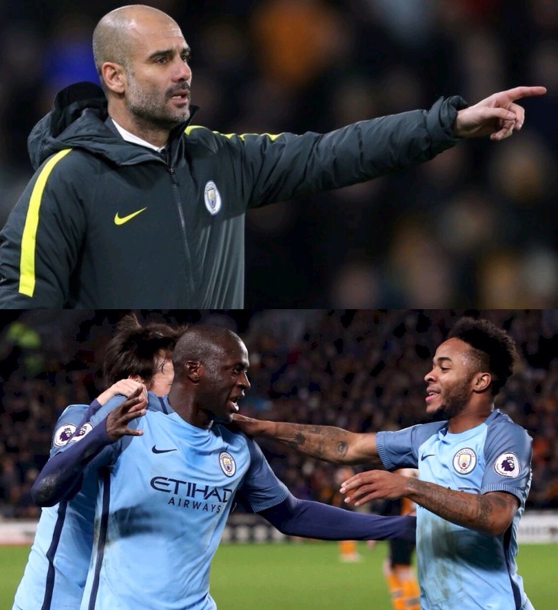 Guardiola: Man City's Target Now Is Top Four, Not EPL Title