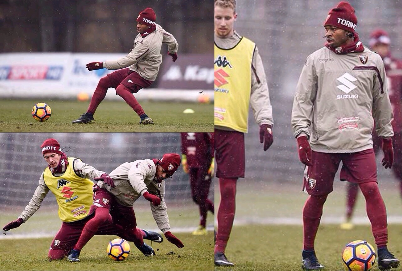 Obi Resumes Training With Torino After Injury Layoff