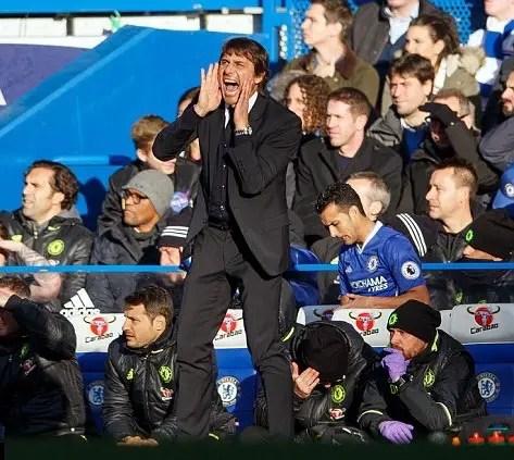 Conte Calls  For Chelsea Focus, Plays Down Fabregas Transfer Talks