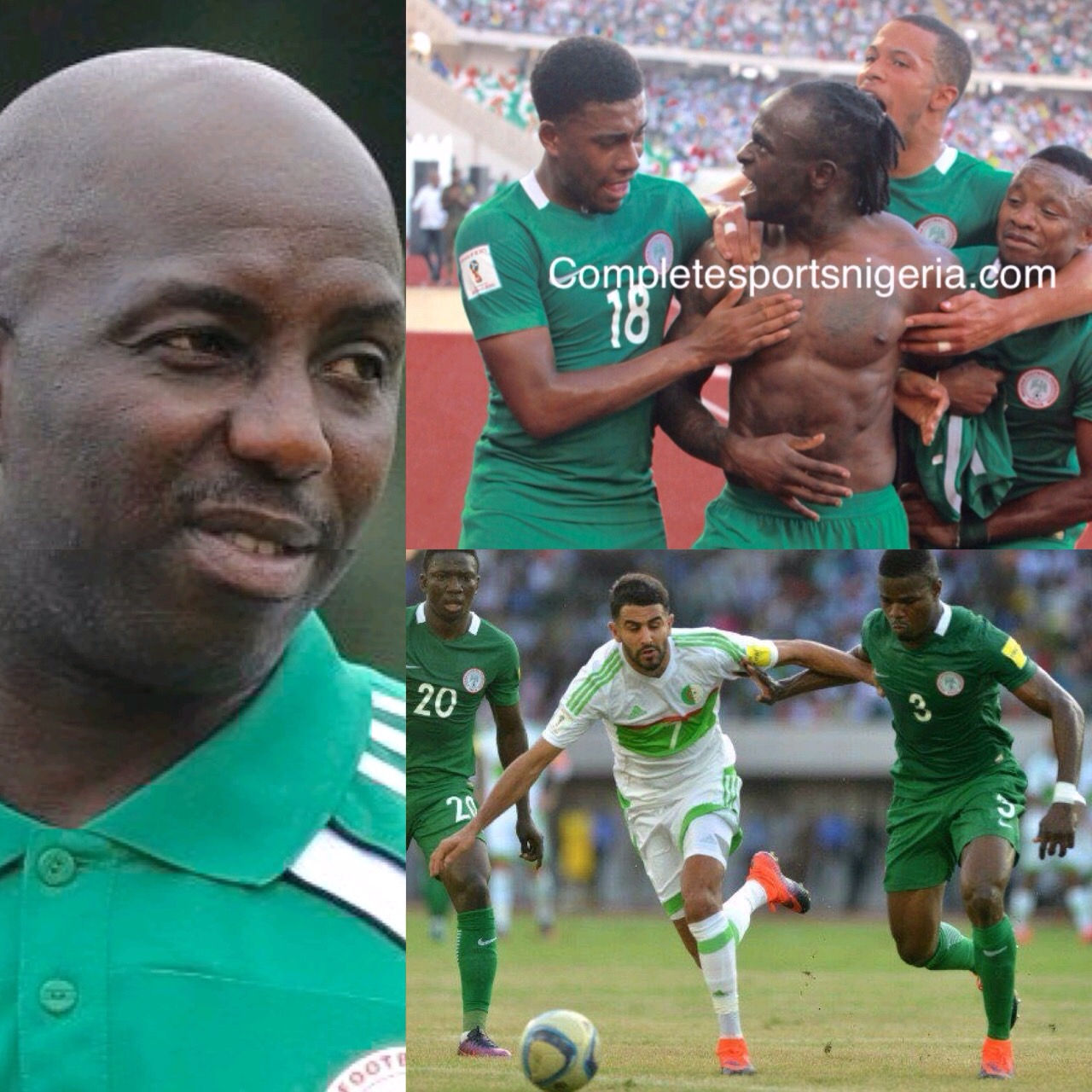 Siasia: I'm In Uyo To Support Eagles To Qualify  For 2018  World Cup