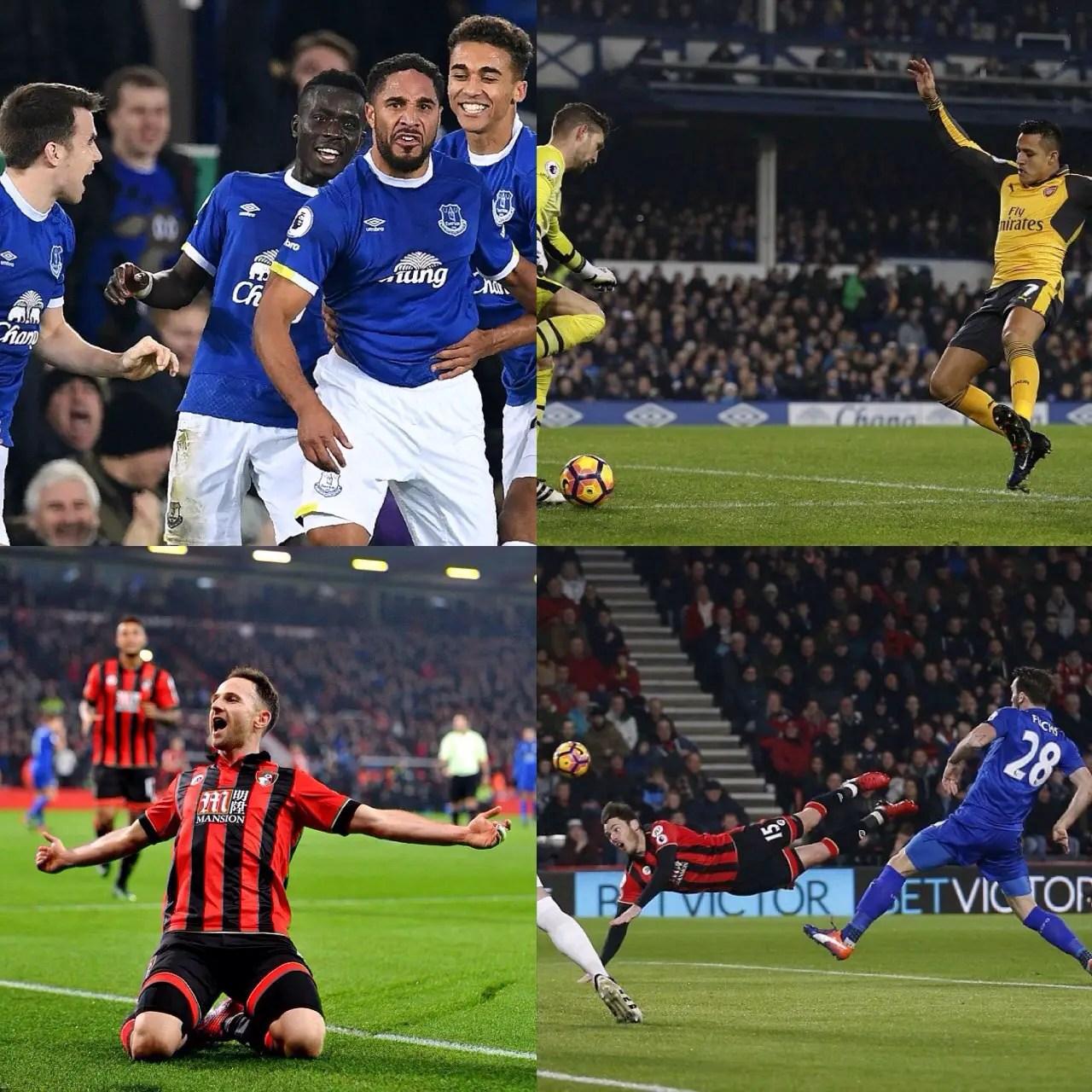 IWobi, Musa Play Sub Roles As Arsenal, Leicester  Lose To Everton, Bournemouth