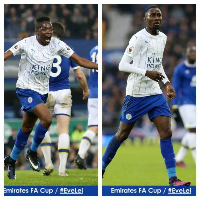 FA Cup: Musa Bags Brace, Ndidi Debuts As Leicester Stun Everton; Ighalo, Ikeme Win