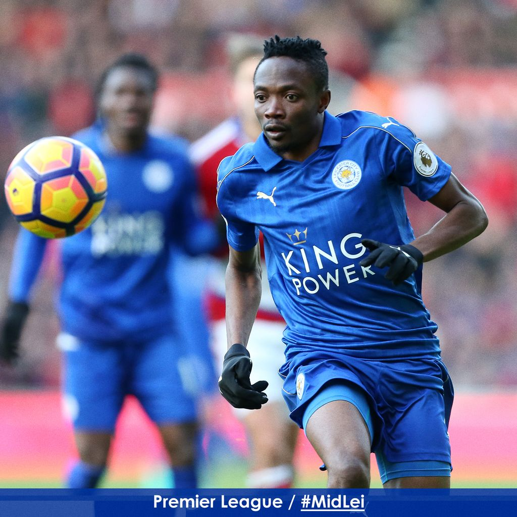 Musa Subbed On As Leicester Hold Boro