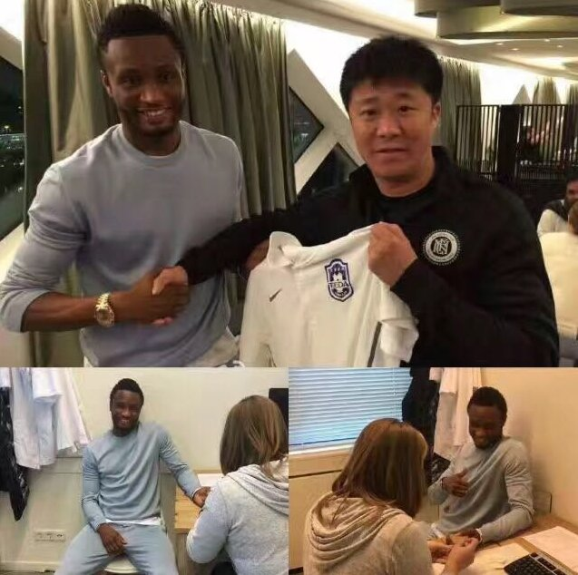 Mikel Seals £140k Per Week China Deal With Tianjin