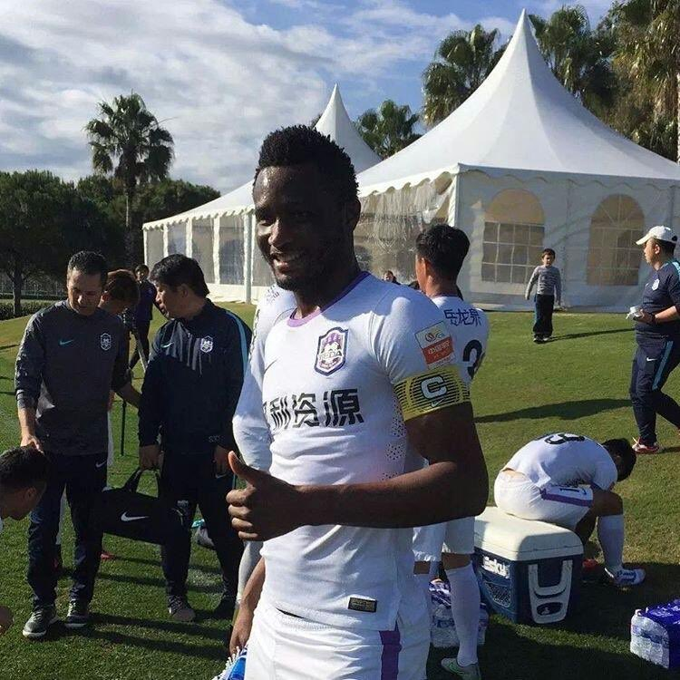 Mikel: I Want To End My Career At Tianjin TEDA