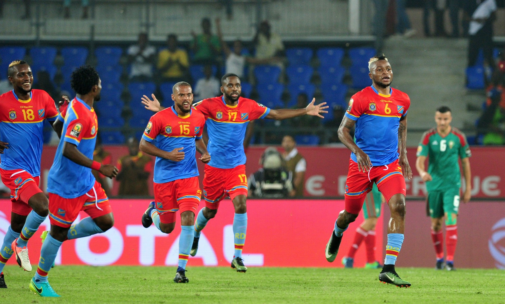 AFCON: 10-Man DR Congo Outsmart Morocco