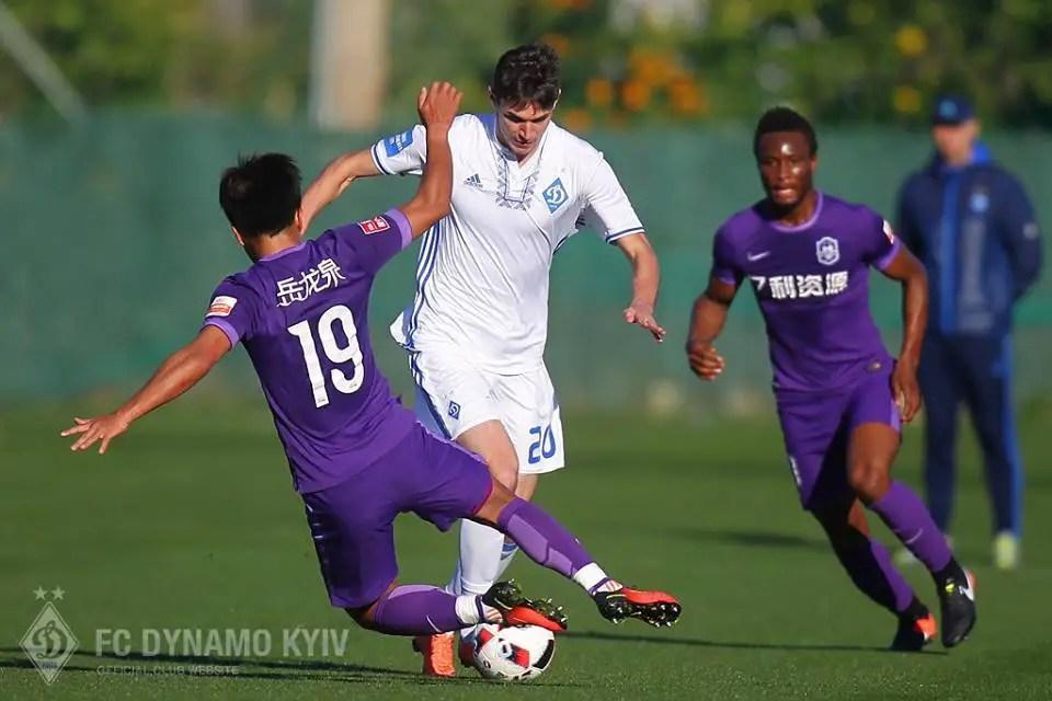 Mikel's Tianjin Suffer Fourth Straight Friendly Defeat Vs Dynamo Kiev