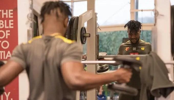 Success Resumes Training At Watford After Injury Setback