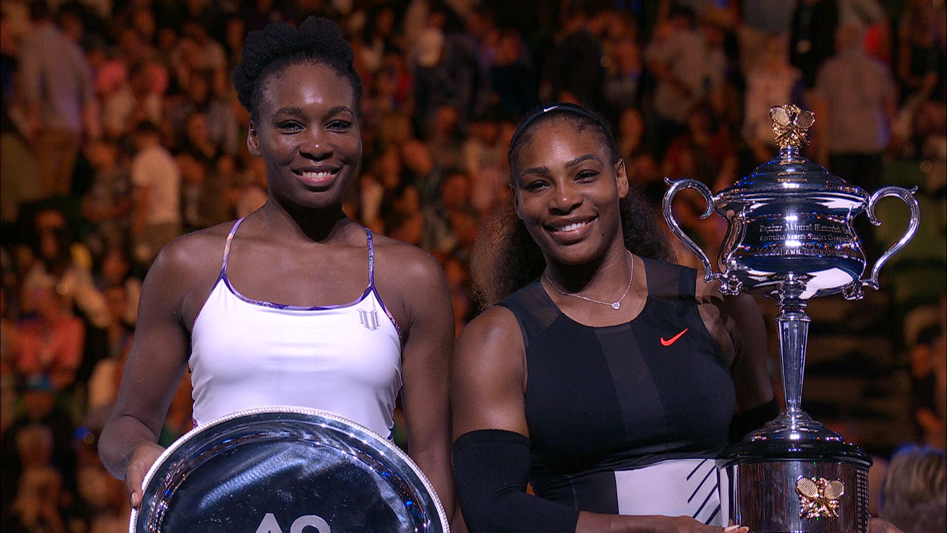 Serena Beats Venus In Aussie Open Final, Wins Record 23rd Grand Slam