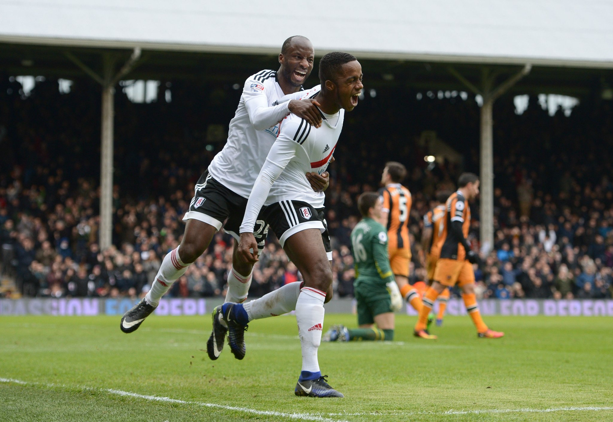 FA Cup: Aluko On Target As Fulham Thrash Hull City