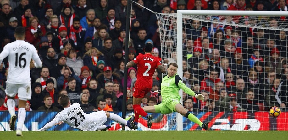 The Swans Of Swansea Peck Liverpool Too Hard, Win 3-2 At Anfield