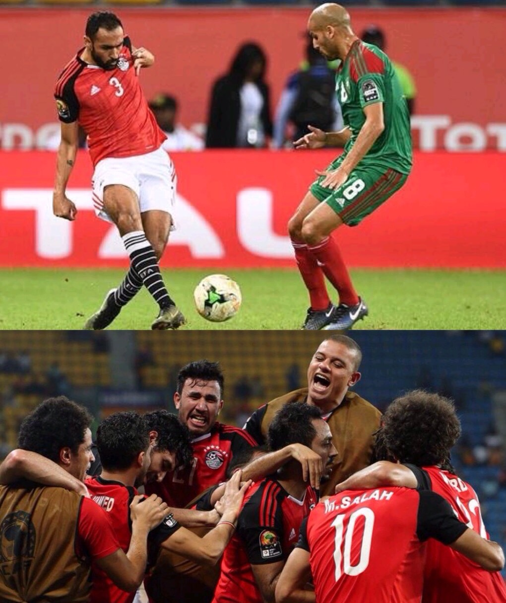 AFCON 2017: Egypt Beat Morocco To The Semis Ticket, End 31 Year Jinx