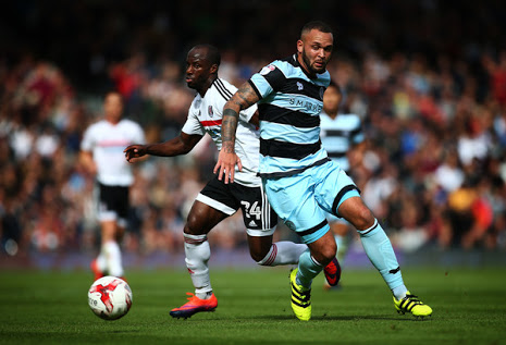 Aluko Voted Fulham's Man Of The Match Vs QPR