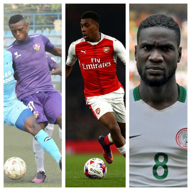 Iwobi, Odey, Ideye Up For Complete Sports January Player Of The Month