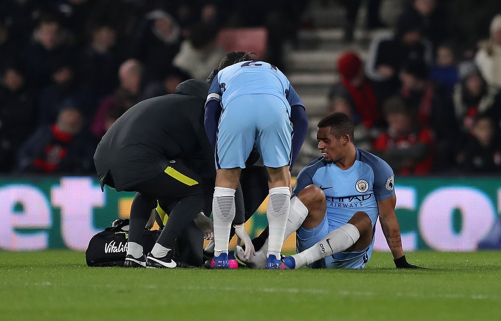 Man City Confirm Iheanacho Rival Gabriel Jesus Injury