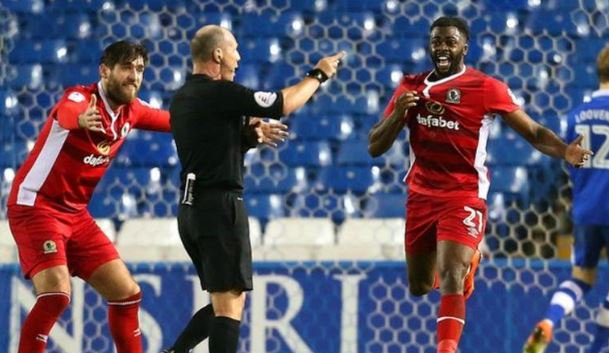 Akpan Charged For Ref Push, To Miss Blackburn Vs United