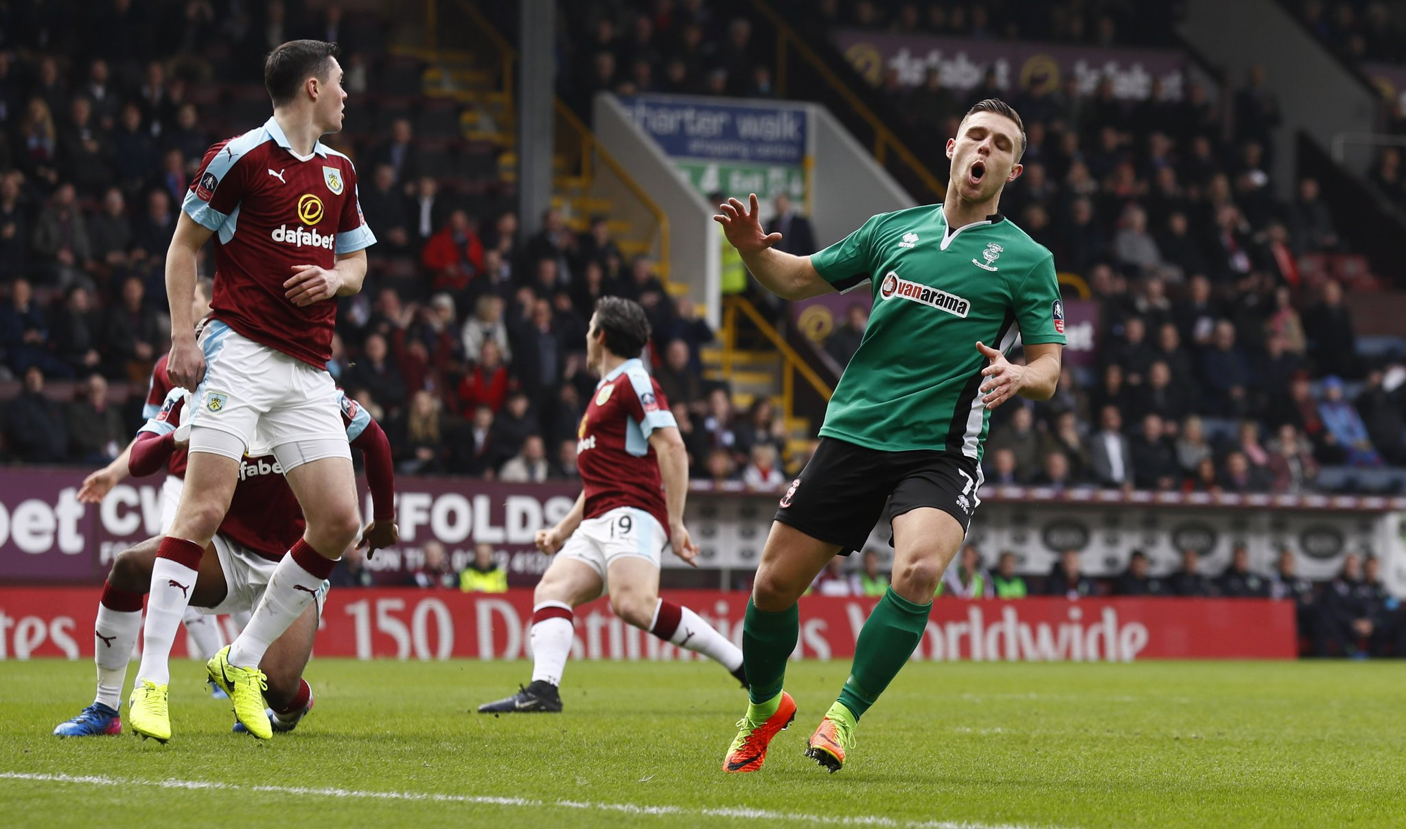 Fifth-Tier Lincoln Dump Burnley Out Of Emirates FA Cup