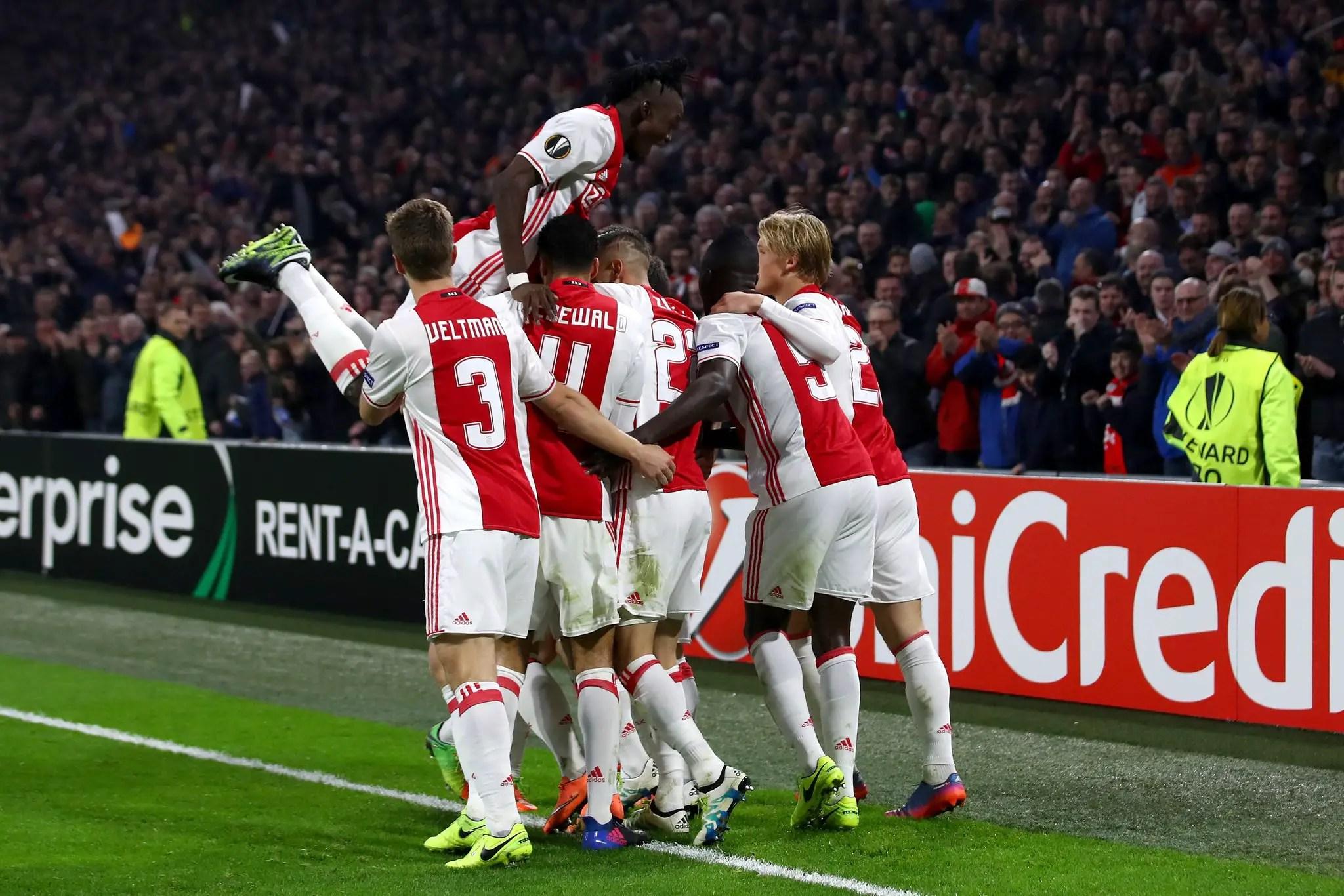 Europa: Nwakaeme, Cameroon's Abubakar Score As Hapoel Crash; Ajax, Roma Advance