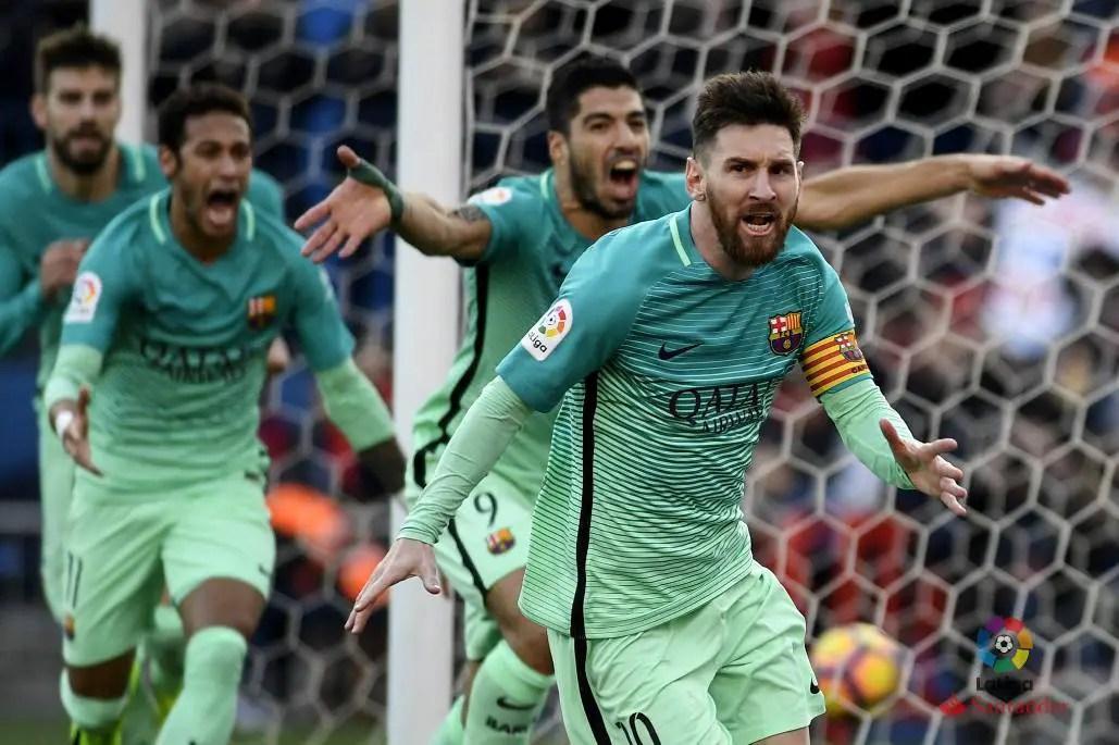 Messi Scores Winner Vs Atletico As  Barca Go Top
