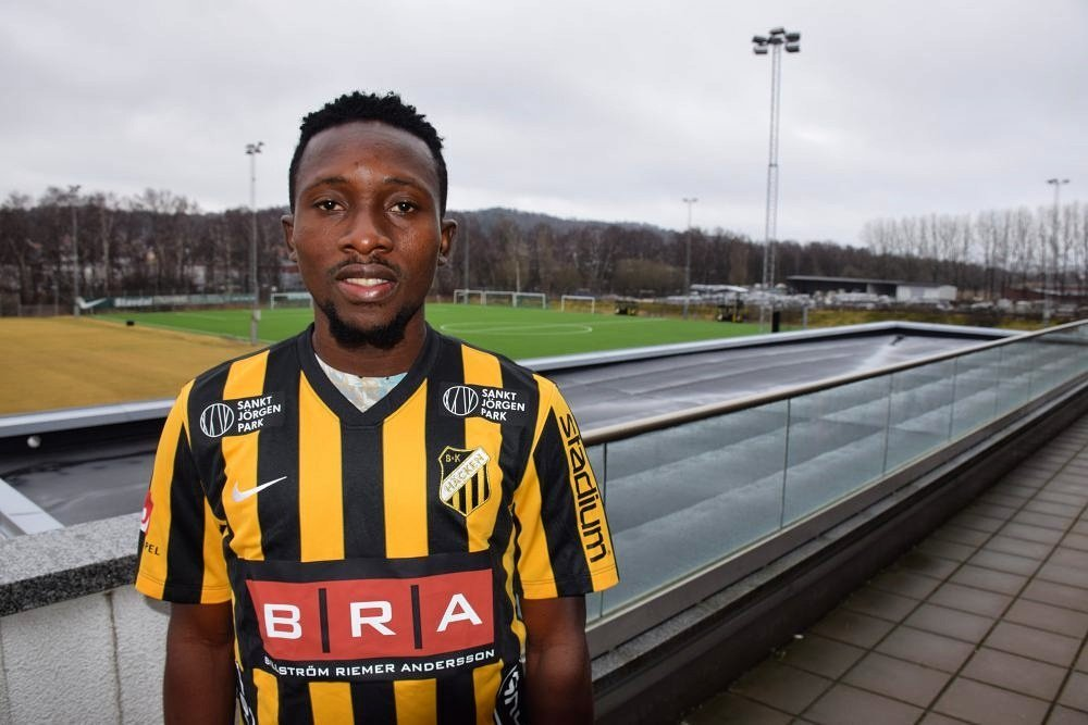 """Egbuchulam Happy To Sign For Sweden's Hacken With """"Real Age"""""""