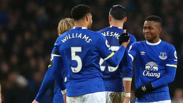 Everton Defender, Williams: Lookman Is Our Secret Weapon